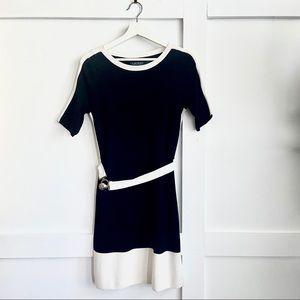Lauren Ralph Lauren   Black & White Dress   Medium